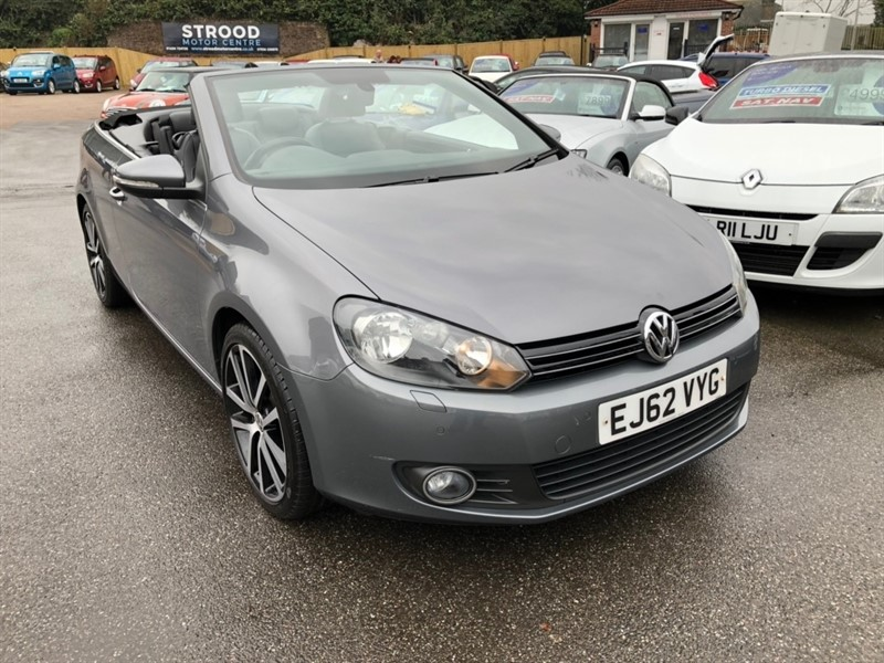 used VW Golf TSI GT Cabriolet DSG 2dr in rochester-kent