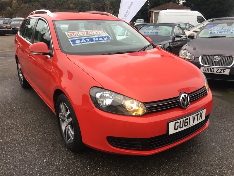 used VW Golf TDI BlueMotion Tech SE 5dr in rochester-kent