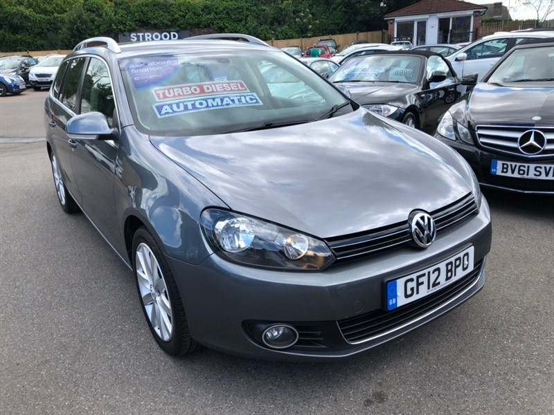 used VW Golf TDI Sportline DSG 5dr in rochester-kent