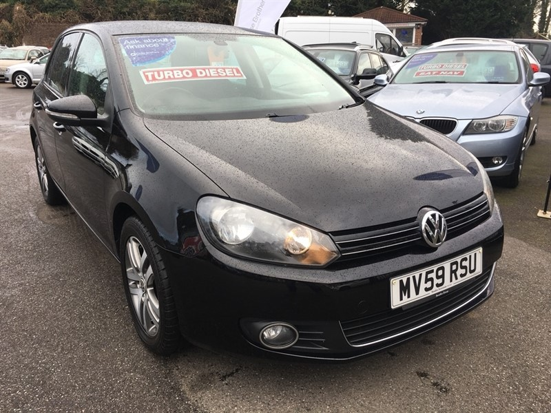 used VW Golf TDI SE 5dr in rochester-kent