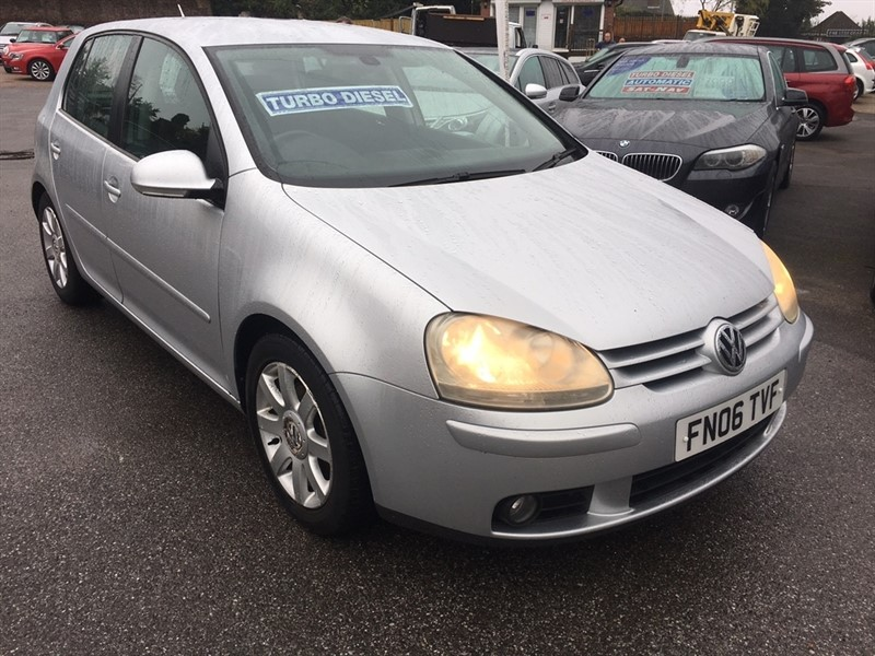 used VW Golf TDI GT 5dr in rochester-kent