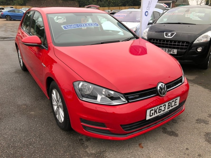 used VW Golf TDI BlueMotion 5dr in rochester-kent