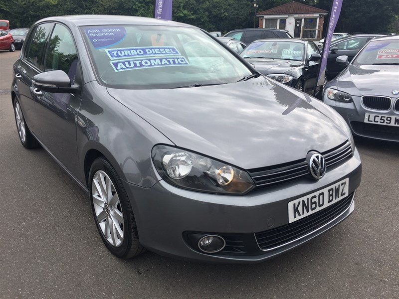used VW Golf TDI GT DSG 5dr in rochester-kent
