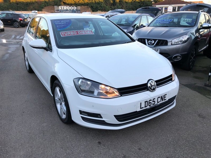 used VW Golf TDI BlueMotion Tech Match (s/s) 5dr in rochester-kent