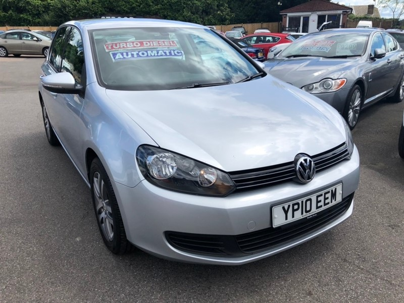 used VW Golf TDI SE DSG 5dr in rochester-kent