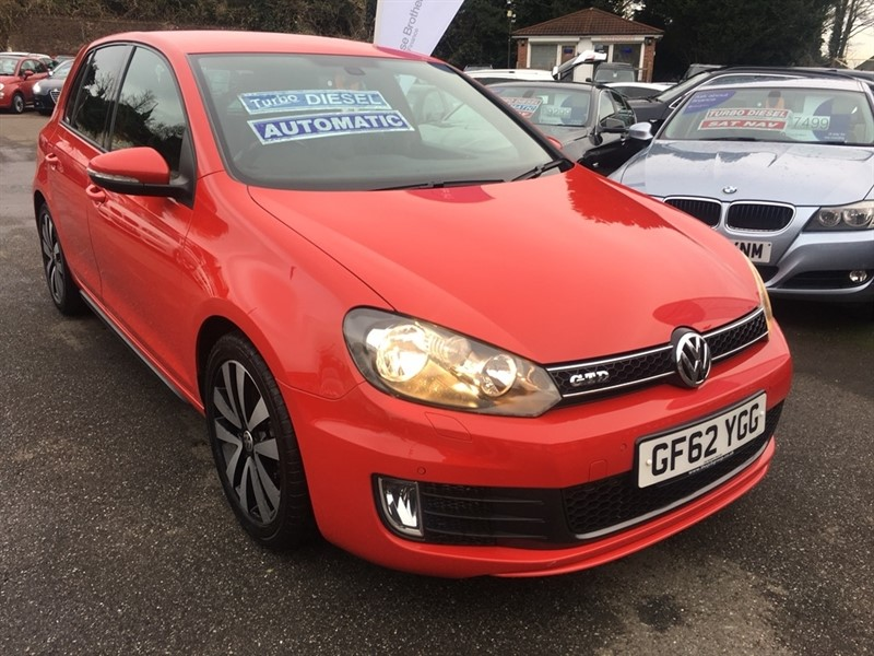 used VW Golf TDI GTD DSG 5dr in rochester-kent