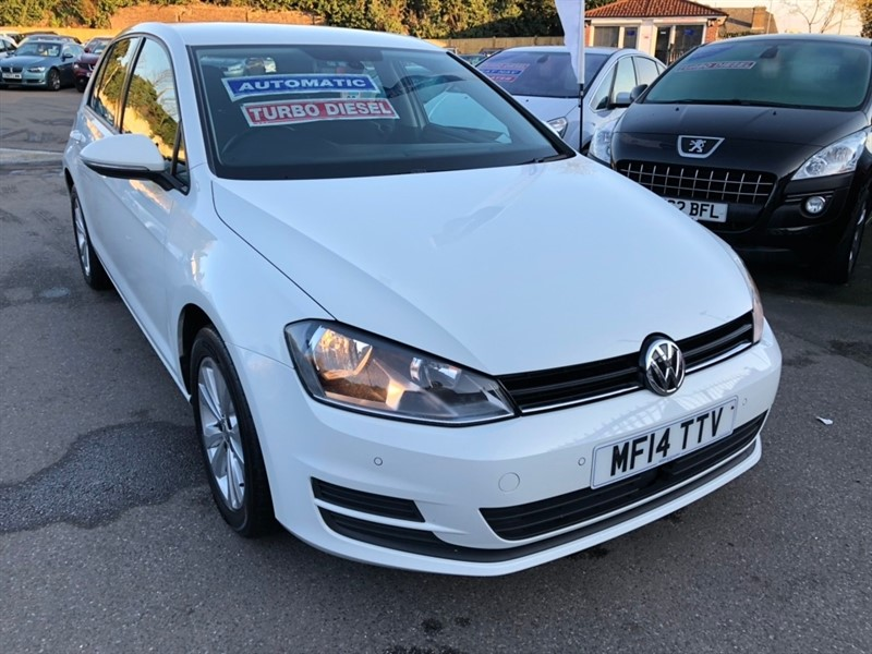 used VW Golf TDI SE DSG (s/s) 5dr in rochester-kent