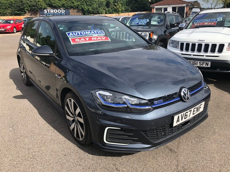 used VW Golf TSI 8.7kWh GTE Advance DSG (s/s) 5dr in rochester-kent