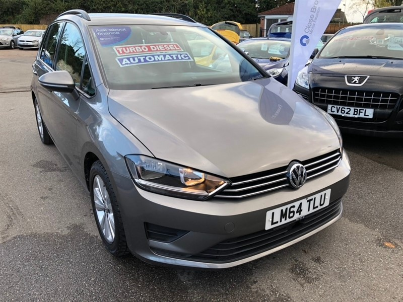 used VW Golf SV TDI CR BlueMotion Tech SE DSG 5dr in rochester-kent
