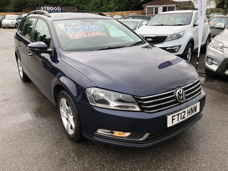 used VW Passat TDI BlueMotion Tech S DSG 5dr in rochester-kent