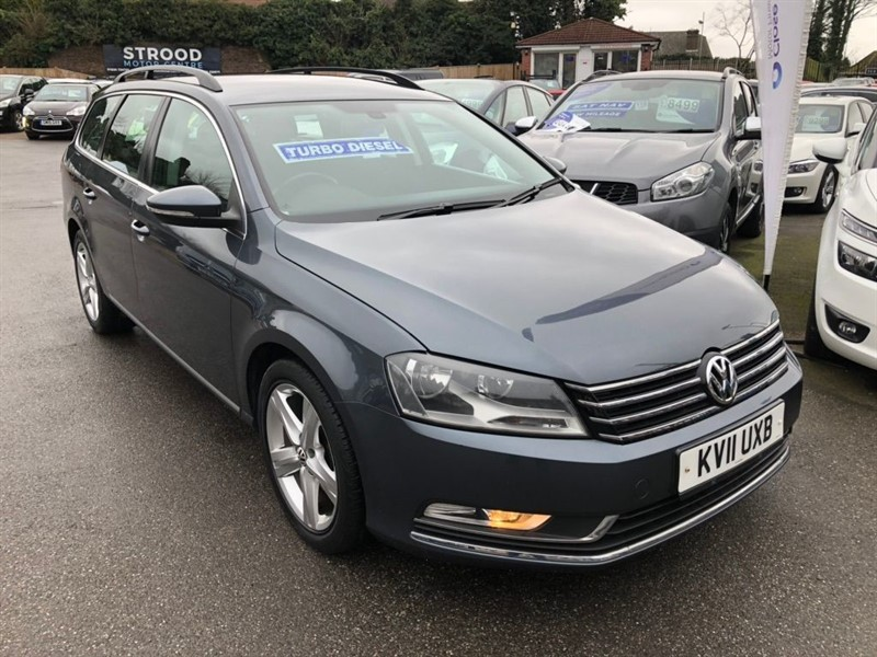 used VW Passat TDI BlueMotion Tech SE 5dr in rochester-kent