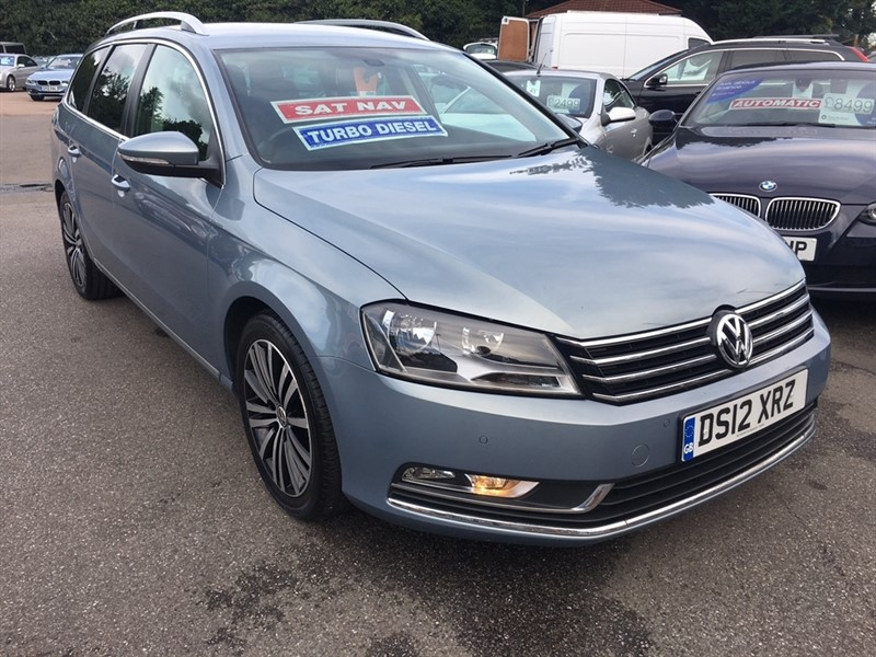 used VW Passat TDI BlueMotion Tech Sport 5dr in rochester-kent