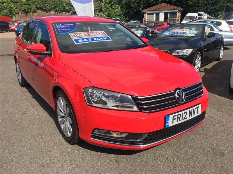 used VW Passat TDI BlueMotion Tech Sport (s/s) 4dr in rochester-kent