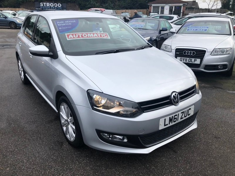 used VW Polo SEL DSG 5dr in rochester-kent
