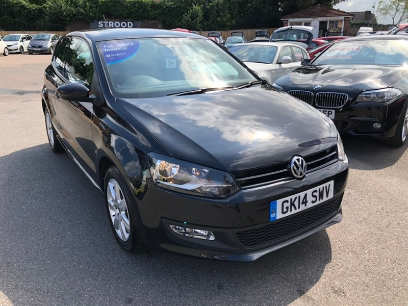 used VW Polo Match Edition 3dr in rochester-kent