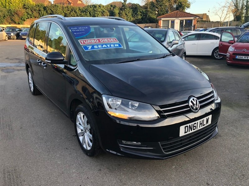 used VW Sharan TDI BlueMotion Tech SEL 5dr in rochester-kent