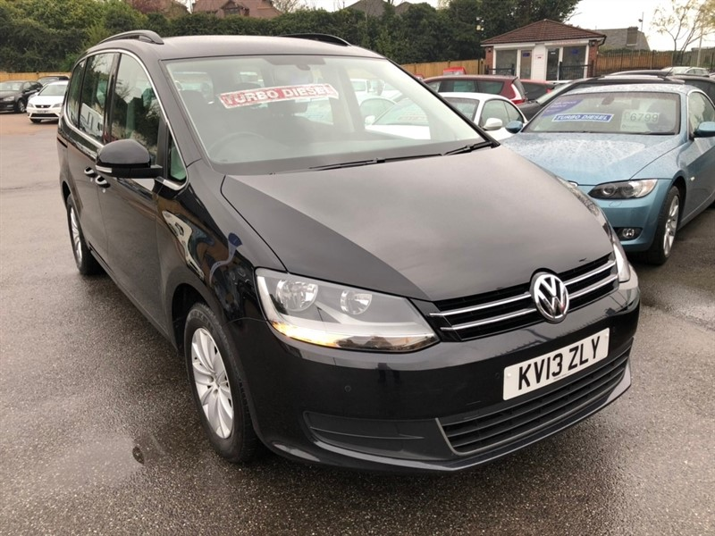 used VW Sharan TDI BlueMotion Tech SE 5dr in rochester-kent