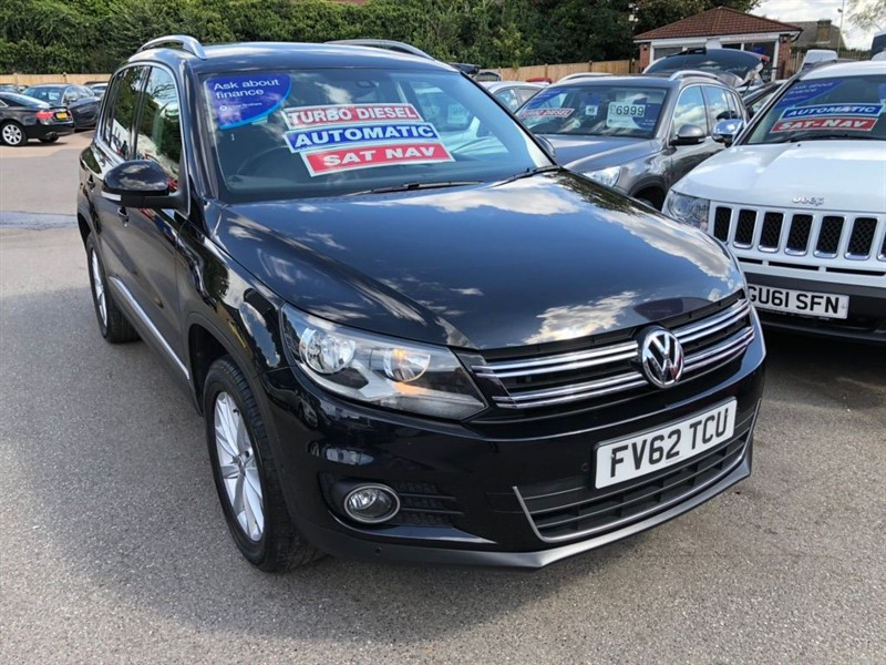 used VW Tiguan TDI BlueMotion Tech SE DSG 4WD (s/s) 5dr in rochester-kent