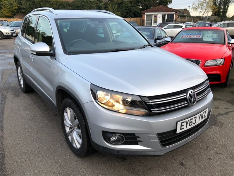 used VW Tiguan TDI BlueMotion Tech Match DSG 4WD (s/s) 5dr in rochester-kent