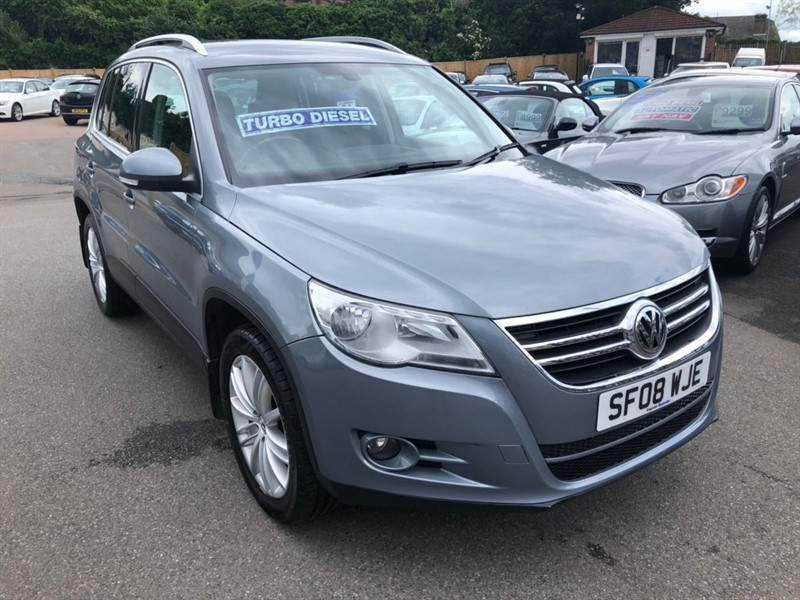 used VW Tiguan TDI Sport 4MOTION 5dr in rochester-kent
