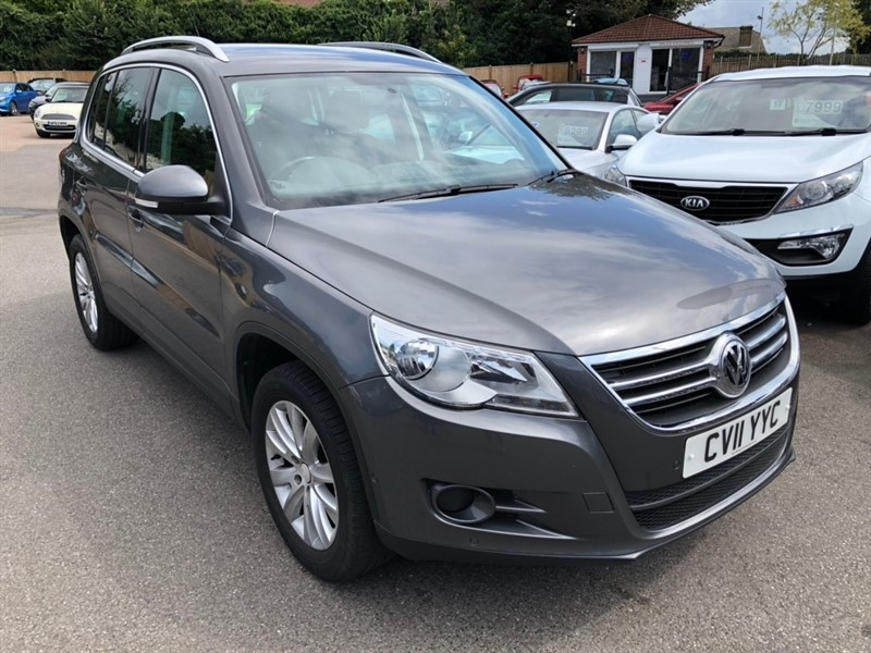 used VW Tiguan TDI Match 4MOTION 5dr in rochester-kent