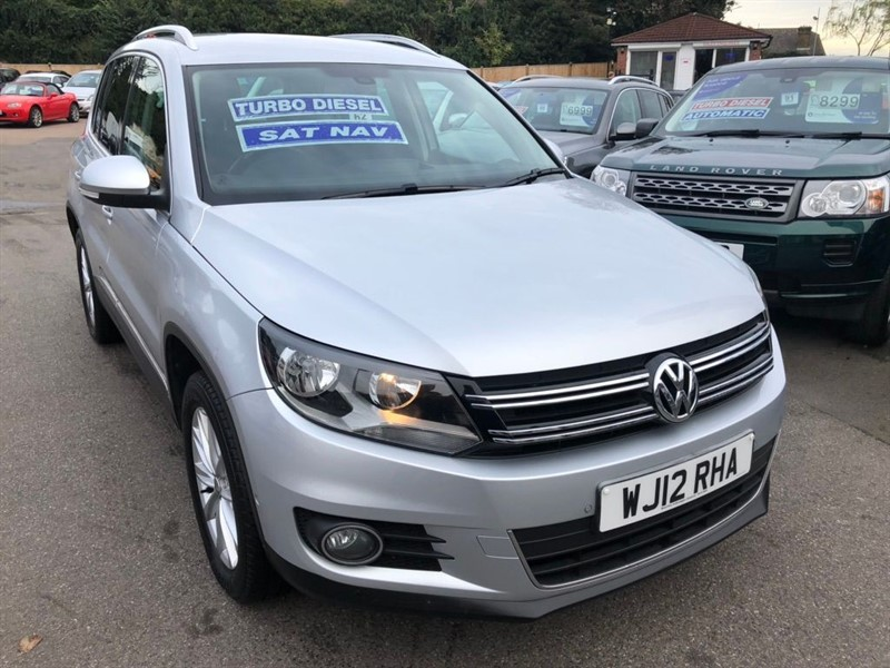 used VW Tiguan TDI BlueMotion Tech SE 4WD (s/s) 5dr in rochester-kent