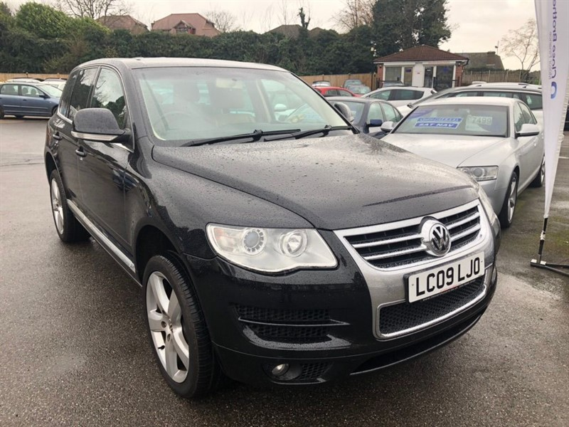 used VW Touareg TDI V6 DPF Altitude 5dr in rochester-kent