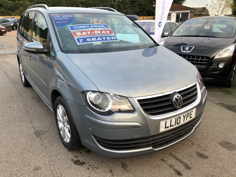 used VW Touran TDI DPF Match 5dr (7 Seats) in rochester-kent