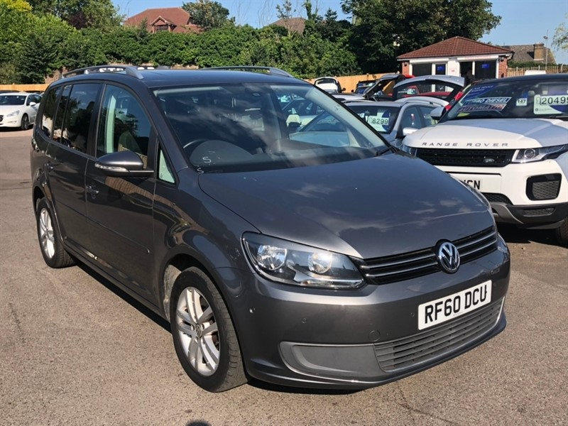 used VW Touran TDI SE 5dr (7 Seats) in rochester-kent