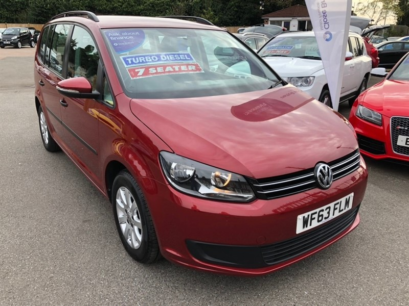 used VW Touran TDI BlueMotion Tech S 5dr (7 Seats) in rochester-kent