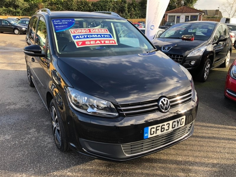 used VW Touran TDI BlueMotion SE DSG 5dr (7 Seats) in rochester-kent