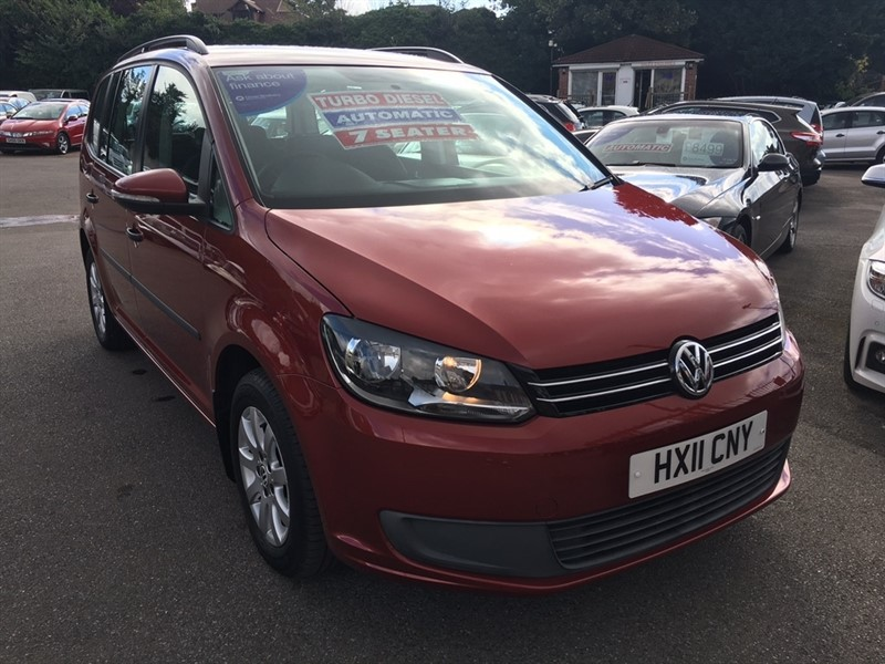 used VW Touran TDI S DSG 5dr in rochester-kent