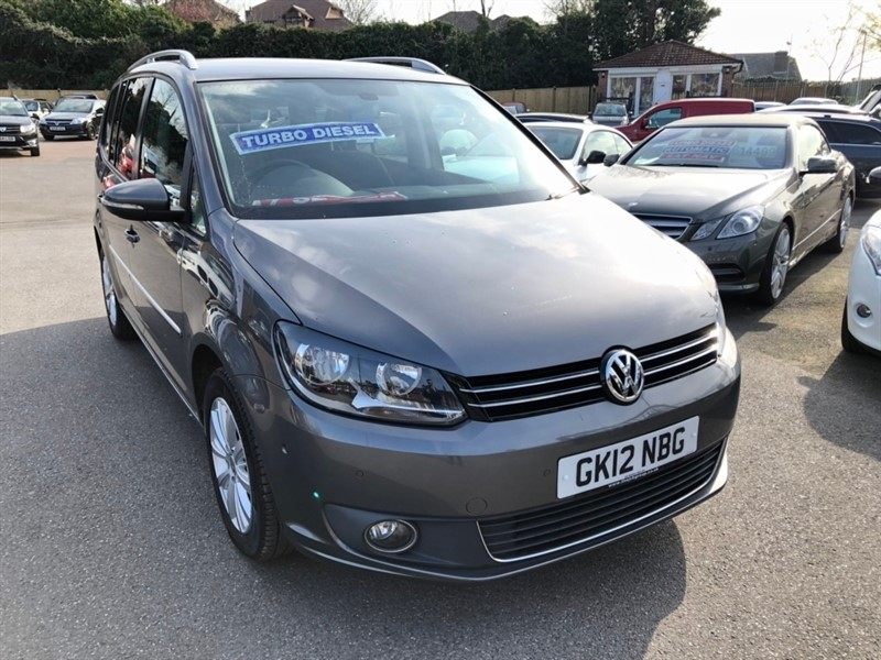 used VW Touran TDI BlueMotion Tech Sport 5dr (7 Seats) in rochester-kent