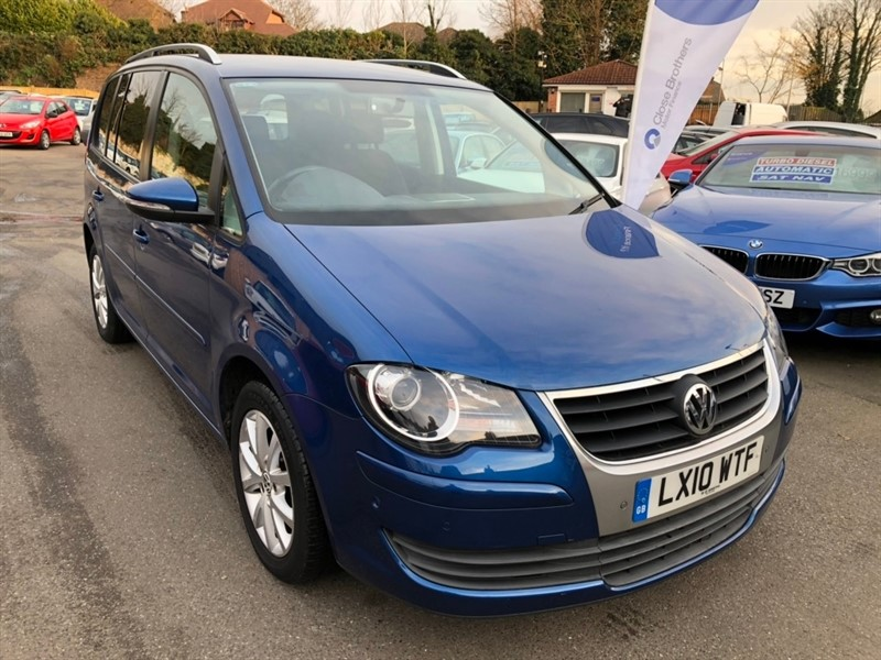 used VW Touran TDI Match 5dr (7 Seats) in rochester-kent