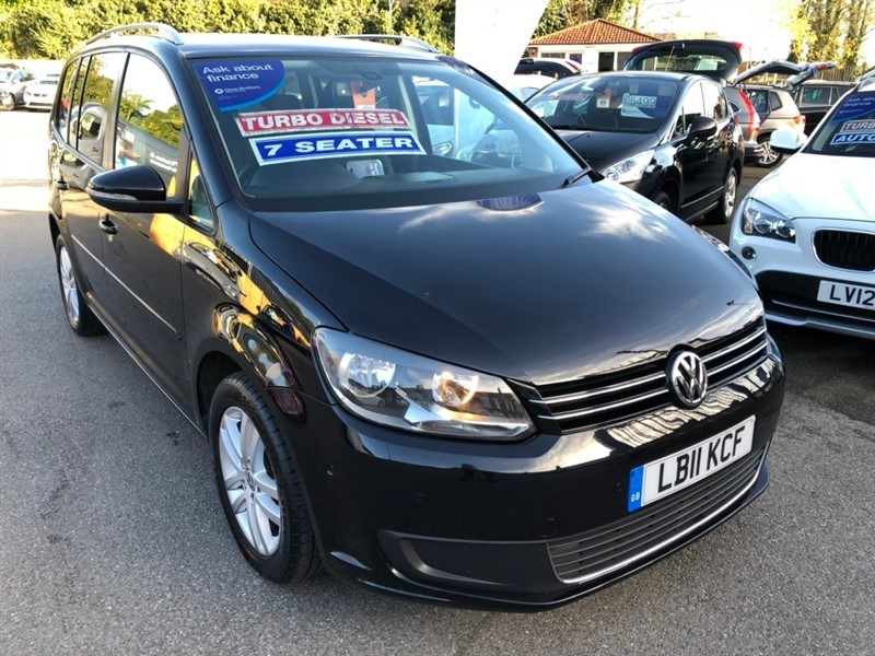 used VW Touran TDI SE 5dr in rochester-kent