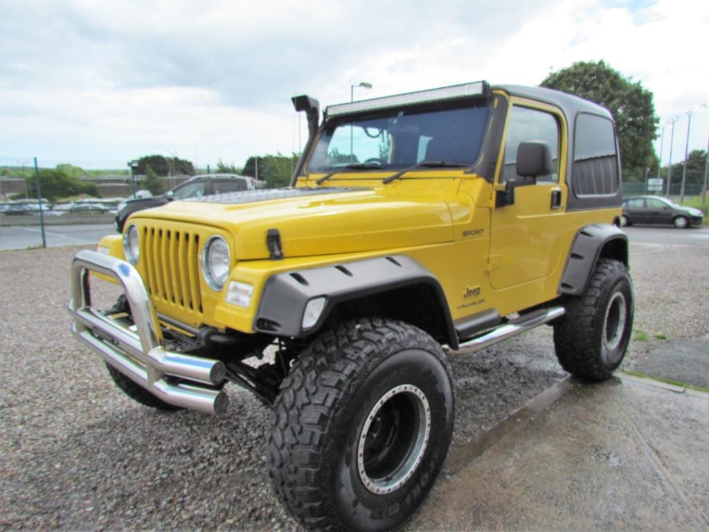 Used yellow Jeep Wrangler for Sale | Devon