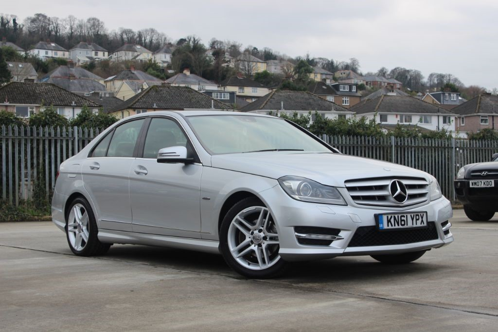 Used silver mercedes c250 for sale devon for Used mercedes benz c250 for sale
