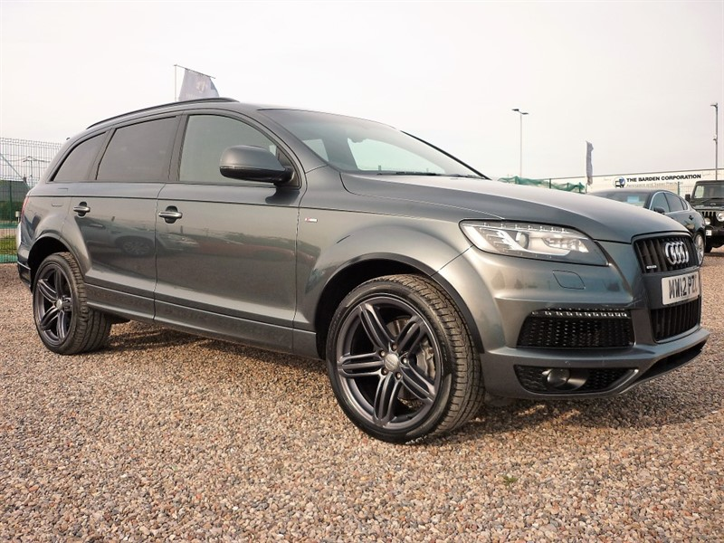used Audi Q7 3.0 TDI QUATTRO S LINE - 2 Keys - Very High Spec - 1 Former Owner in plymouth-devon