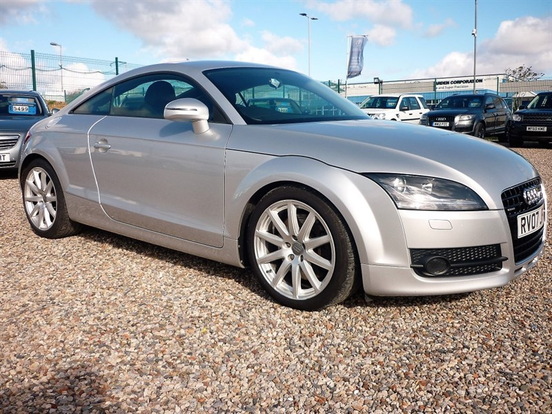 used Audi TT 3.2 QUATTRO SA - Service history - Heated black leather in plymouth-devon