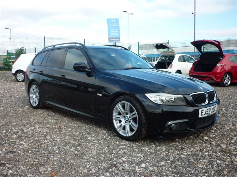 used BMW 318d 2.0 D M SPORT TOURING  (15 MONTHS WARRANTY)   in plymouth-devon