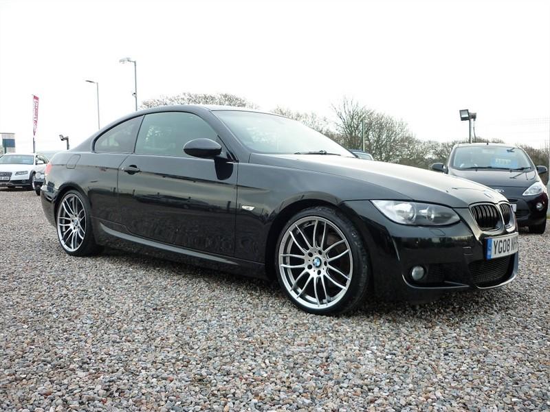 used BMW 320d 2.0d M SPORT - Full service History - 2 Keys - Full Black Leather in plymouth-devon