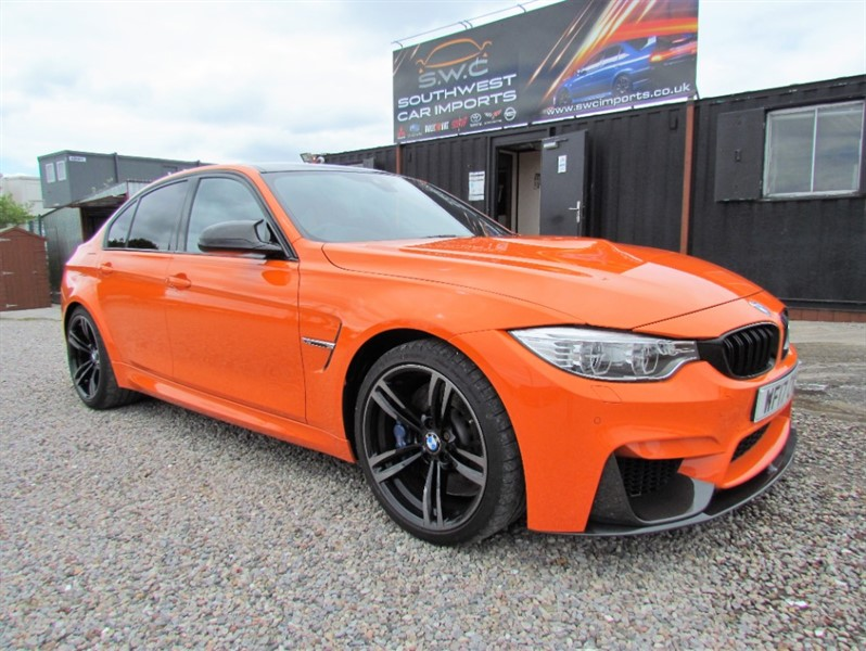 used BMW M3 3.0 TWIN TURBO DCT - 11,000 Miles - Full History - Service plan - Big Spec in plymouth-devon