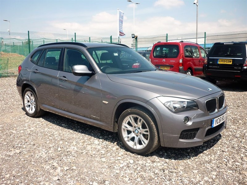 used BMW X1 2.0 DXDRIVE18D M SPORT (FREE FUEL + 6 MONTHS PARTS & LABOUR WARRANTY)  in plymouth-devon