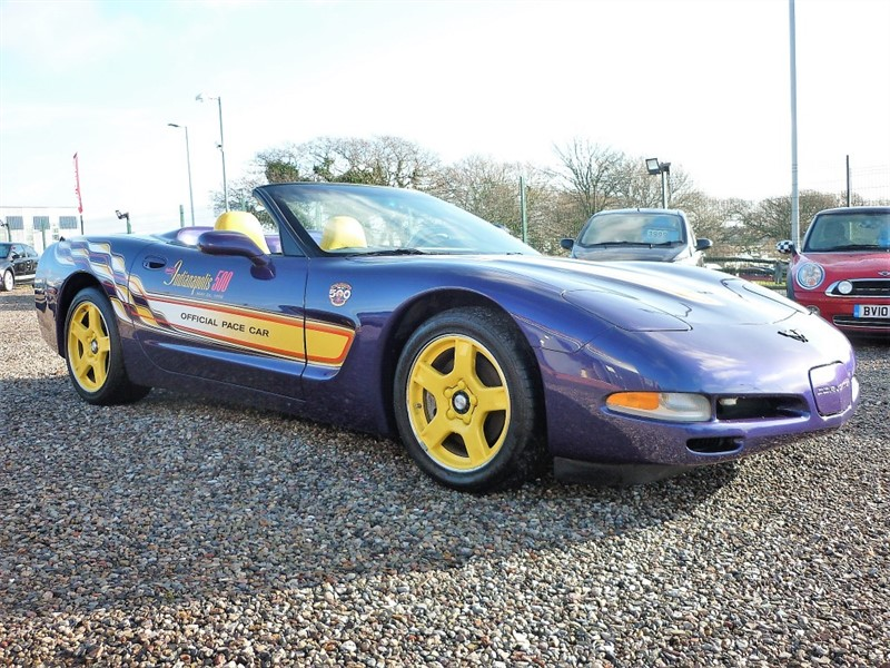 used Chevrolet Corvette C5 5.7 V8 1998 Indy 500 Pace Car - Only 1 in the UK- Appreciating Classic in plymouth-devon