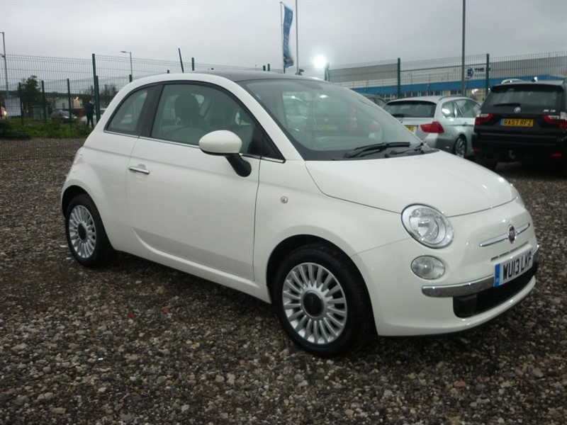used Fiat 500 1.2 LOUNGE   in plymouth-devon