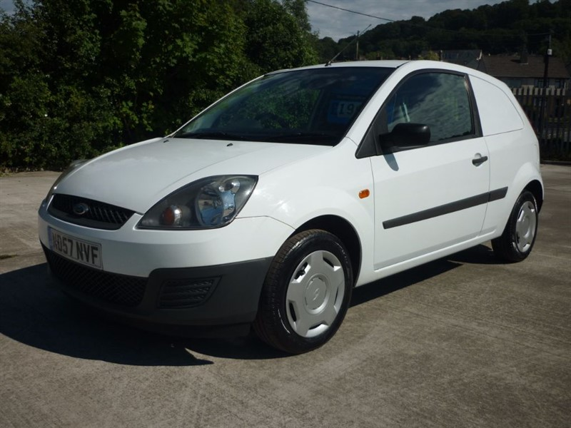 used Ford Fiesta 1.4 TDCI VAN in plympton-plymouth