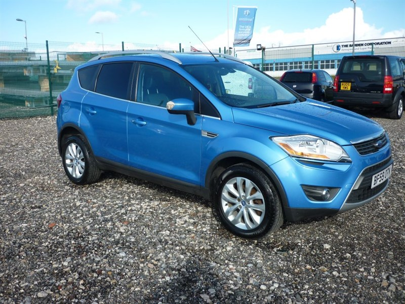 used Ford Kuga TITANIUM 2.0 TDCI AWD in plymouth-devon