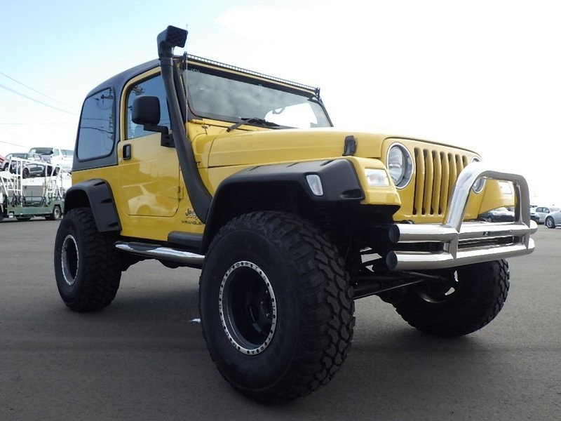 used Jeep Wrangler 4.0 Sport Auto - Fresh Import - Monster Truck - Lift Kit- 35