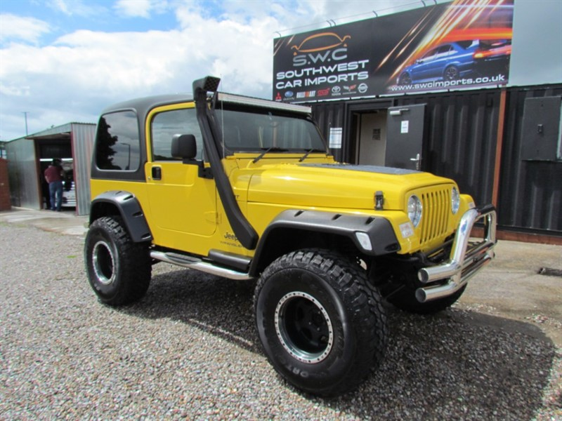 used Jeep Wrangler 4.0 Sport Auto - Just Arrived - Monster Truck - Lift Kit- 35