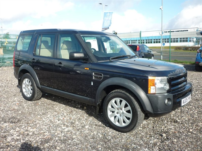 used Land Rover Discovery 3 2.7 TDV6 SE 7 SEATER in plymouth-devon